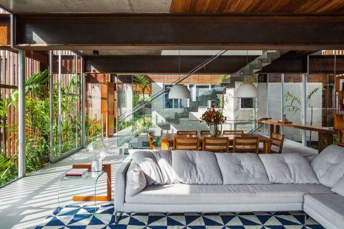 Maison au Brésil house