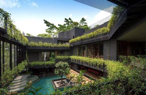 Maison à Singapour _ House in singapore