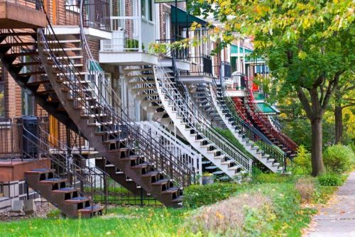 Montreal staircases
