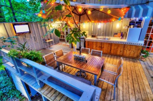 Outdoor Terrace Sell House rapidamente